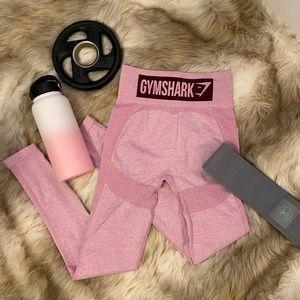 Gymshark Flex High Waisted Leggings Pink in Small